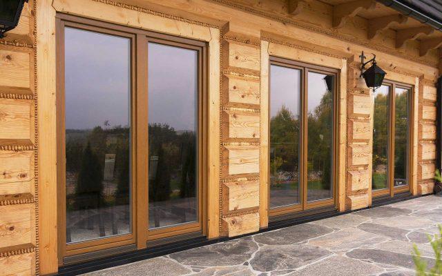 Holzfenster von Drutex