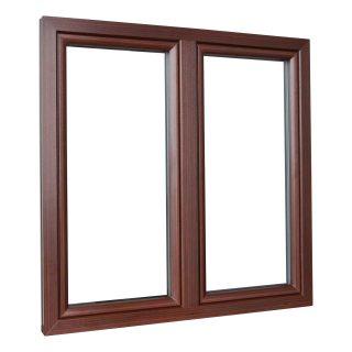 Kunststofffenster Drutex Iglo Energy Front Holz